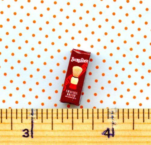 Dollhouse Miniatures Shaving Brush Box
