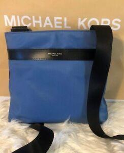 f122013ee005 NWT Michael Kors Men's KENT Nylon Medium Crossbody Messenger Bag ...