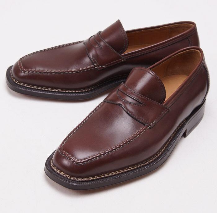 NIB  SUTOR MANTELLASSI Norwegian Welt Loafers shoes US 7.5 D Norvegese