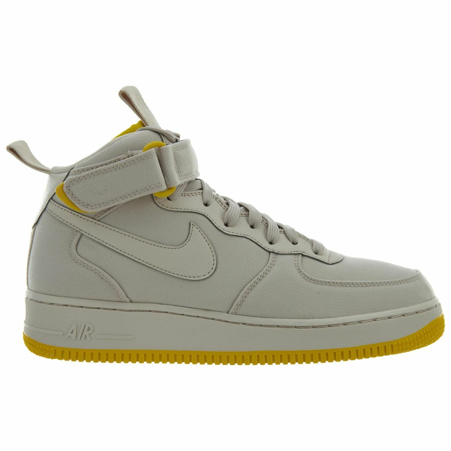 Nike Air Force 1 Mid Canvas Mens AH6770-002 Desert Sand Sulfur Shoes Size 9.5