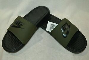 Nike Benassi JDI Olive Green/Black Men