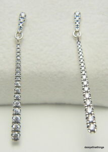 Image Is Loading New Authentic Pandora Silver Earrings Shooting Star Dangles