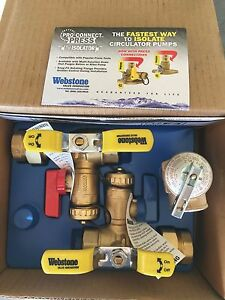 Isolation Valve Kit Takagi T-K4-IN-NG Tankless Water Heater - Webstone