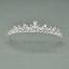 Bridal-Princess-Party-Crystal-Tiara-Wedding-Crown-Veil-Hair-Accessory-Headband thumbnail 13