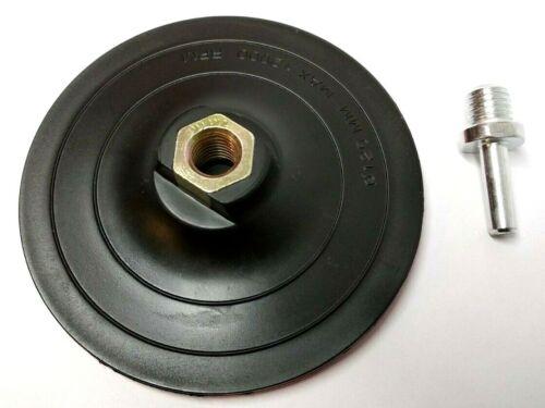 M14 Spanndorn für Winkelschleifer /& Bohrmaschine Klett Schleifteller Ø 125 mm