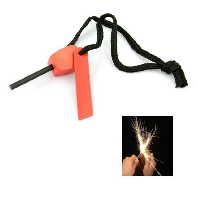 Magnesium Flint And Steel Striker - SAS Emergency Fire Lighter Survival Camping