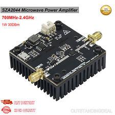 Sza2044 Microwave Power Amplifier Rf Power Amp 700mhz 24ghz 1w 30dbm Ot16
