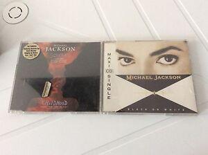 MICHAEL-JACKSON-SCREAM-CHILDHOOD-amp-Black-And-White-MINI-CD-USATO
