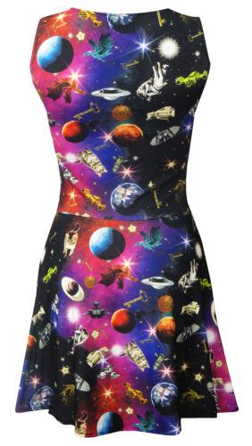 Statue Astronave Donna Da Pianeti Universo Galassia Vestito Angel Skater Spazio w6wFvqY