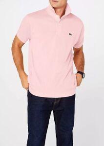 089c5bca6043 NEW Men s Lacoste Original L1212 Pink Flamingo Polo T shirt Size S ...