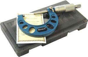 Dasqua-25-50-mm-x-0-01-Esterno-Micrometro-Riferimento-41118110-Garantita-a-Vita