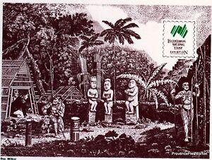AgréAble Yt 310 Morai Ou Cimetiere Polynesie Francaise Fdc Enveloppe Premier Jour CaractèRe Aromatique Et GoûT AgréAble