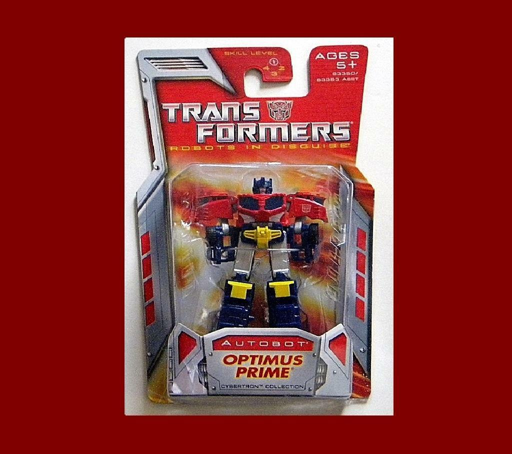 TRANSFORMERS CYBERTRON COLLECTION AUTOBOT OPTIMUS PRIME MINI MOC FROM HASBRO