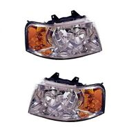 Ford Expedition 03-06 Set Of Left And Right Headlights Eagle Eye on sale