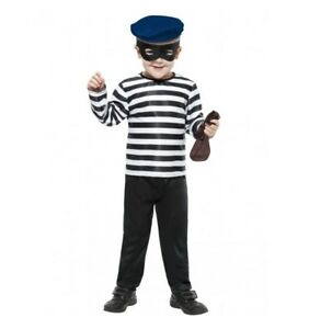 LITTLE-BOYS-BURLGAR-COSTUME-SMALL-4-6-YRS-MELBOURNE-LOCATION