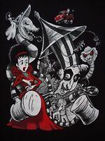Beetlejuice Tim Burton Lydia Otho Keaton Limited Edition Mens T-shirt (m-2xl)