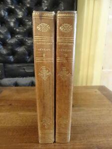Nemesis-Barthelemy-Perrotin-1835-2-volumes-Plein-Maroquin-Callouet-Gravures