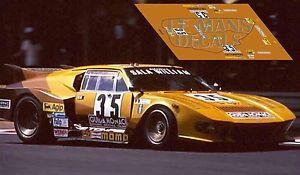 Calcas De Tomaso Pantera Le Mans 1979 35 1:32 1:43 1:24 1:18 Decals Un BoîTier En Plastique Est Compartimenté Pour Un Stockage En Toute SéCurité