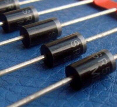 2x SB5100 SR5100 5A 100 V Schottky germanio RADDRIZZATORE Diodo 5 Amp 100 V 0,2 V OP