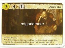 A Game of Thrones LCG - 1x Dorans Plan  #035 - Die Grosse Flotte