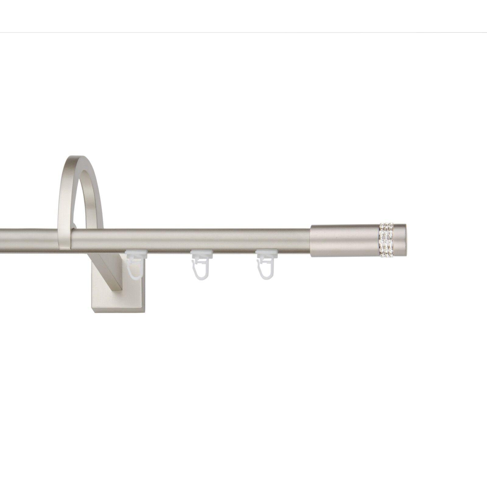 Innenlauf 19mm mit außergewöhnlicher Halterung(Chrom-Matt),1 2-Läuf, 2-Läuf, 2-Läuf, 120-600cm | Deutschland Store  080b2e