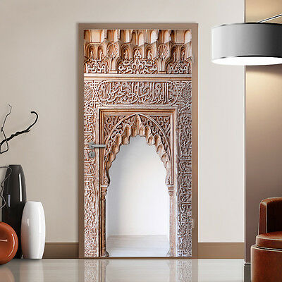 Wall of Ornaments Door Mural Home Interior Decoration Wall Paper Art