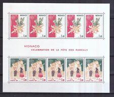 Monaco 1981 postfrisch MiNr. Block 17  Folklore
