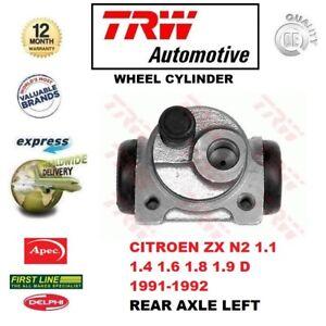 Per-Citroen-ZX-N2-1-1-1-4-1-6-1-8-1-9-D-1991-1992-Asse-Posteriore-Cilindro-Della-Ruota-a-sinistra