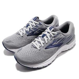 ac6d5d7329d Brooks Adrenaline GTS 19 2E Wide Grey Blue Men Running Shoes ...