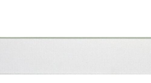 Gummi Gummiband 30 mm 5m weiß