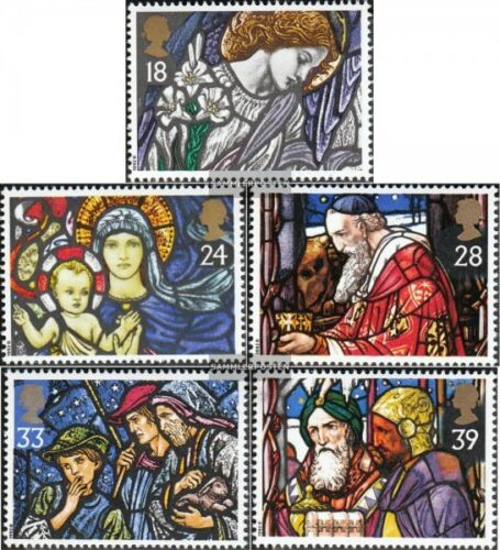 United Kingdom 14211425 mint never hinged mnh 1992 christmas Church window