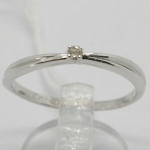 ANILLO-DE-ORO-BLANCO-750-18-CT-SOLITARIO-CON-DIAMANTE-QUILATES-0-03-DOBLE-ITALY