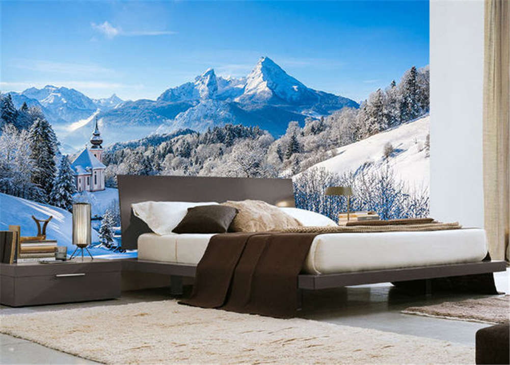 Continuous Firm Hill 3D Full Wall Mural Photo Wallpaper Printing Home Kids Decor