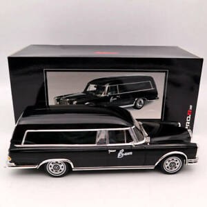 SCHUCO-1-18-Mercedes-Benz-600-HEARSE-FUNERAL-Car-1965-CARRO-FUNEBRE-Black