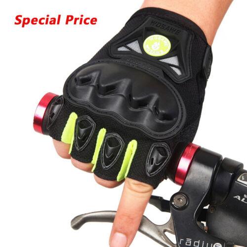 Special Price Motorcycle Gloves Downhill Biker Half Finger  Mitts Shockproof
