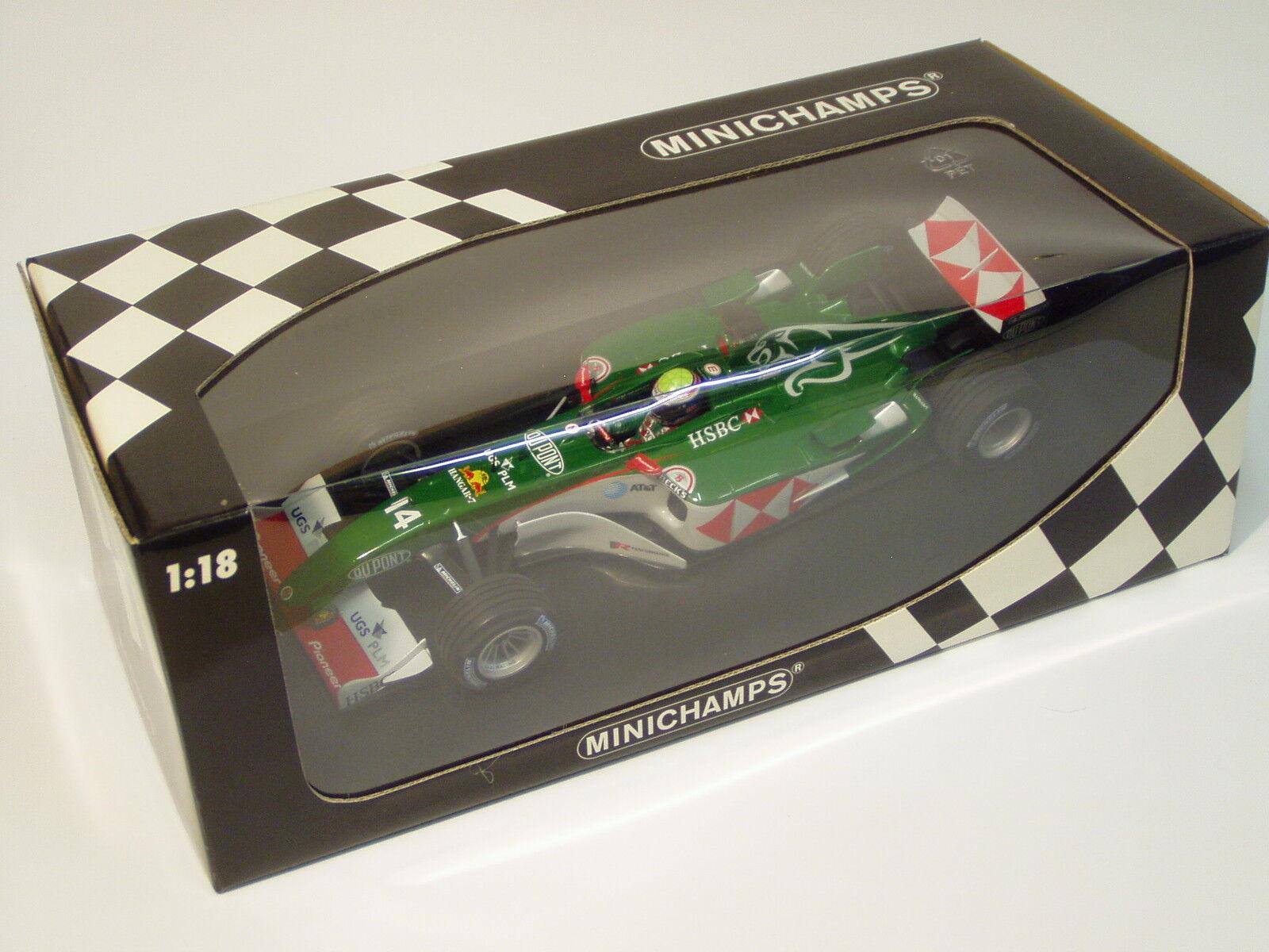 1 18 Jaguar Racing Season 2004 Showbil Mark Webber