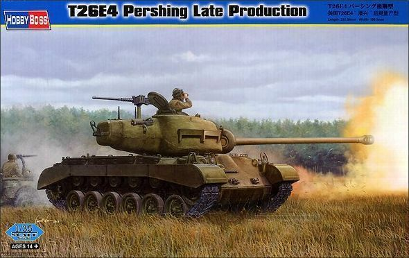 Hobby Boss 1 35 T26E4 Pershing Late Production