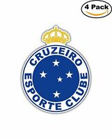 Cruzeiro Esporte Clube Brazil Football Soccer Decal Diecut Sticker 4 Stickers