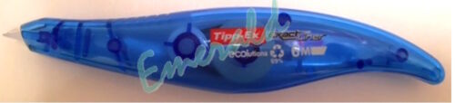 Tipp-Ex Exact Liner Correction Tape Roller Pen shaped Disposable 5mmx6m Ref 8104