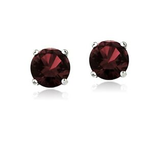 January-Birthstone-Sterling-Silver-2ct-Garnet-Stud-Earrings-6mm