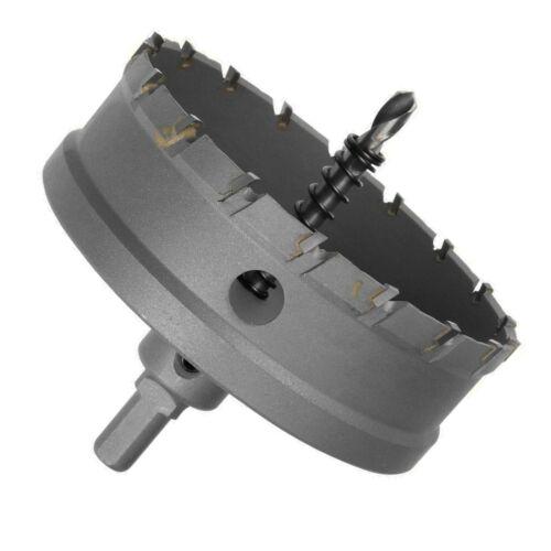 Carbide Tip Metal Cutter trou scie Sélectionner de 45 To 250 mm pour acier inoxydable