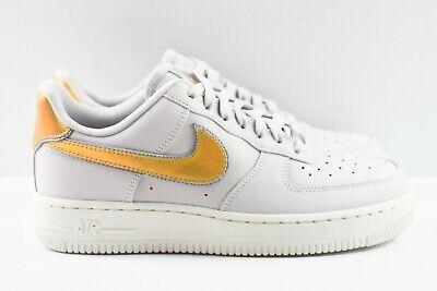 Nike Air Force 1 '07 MTLC Womens Size 6 Shoes AR0642 001 Grey Metallic Gold   eBay