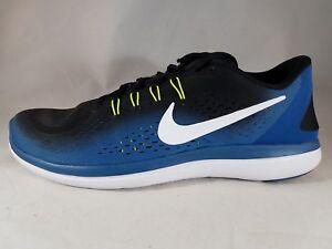ed09171d2845 Nike Flex 2017 RN Men s Industrial Blue Running Shoes 898457 003 ...
