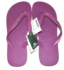a209db761 Lacoste Flip Flops   Sandals US Size 9 Dark Pink - FREE SHIPPING ...