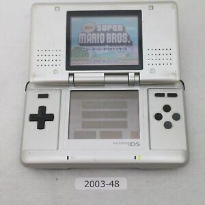 Nintendo-DS-Original-console-Silver-Working-Good-condition-2003-048