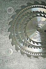 Holz o ALU Sägeblatt Sägeblätter AUSWAHL Kreissägeblatt 130-250mm Adapter f