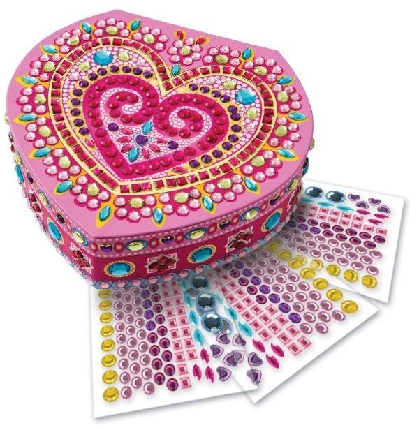 Sticky Mosaics: Heart Box