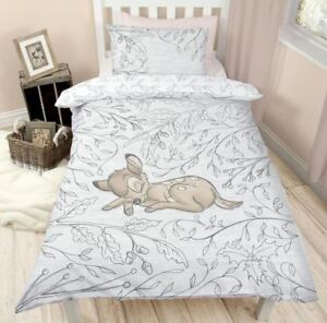 Bambi-039-Sleep-039-Single-Panel-Duvet-Cover-Christmas-Bedding-Set