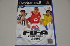 Playstation 2 Spiel - FIFA Football 2004 - EA Sports - komplett Deutsch PS2 OVP