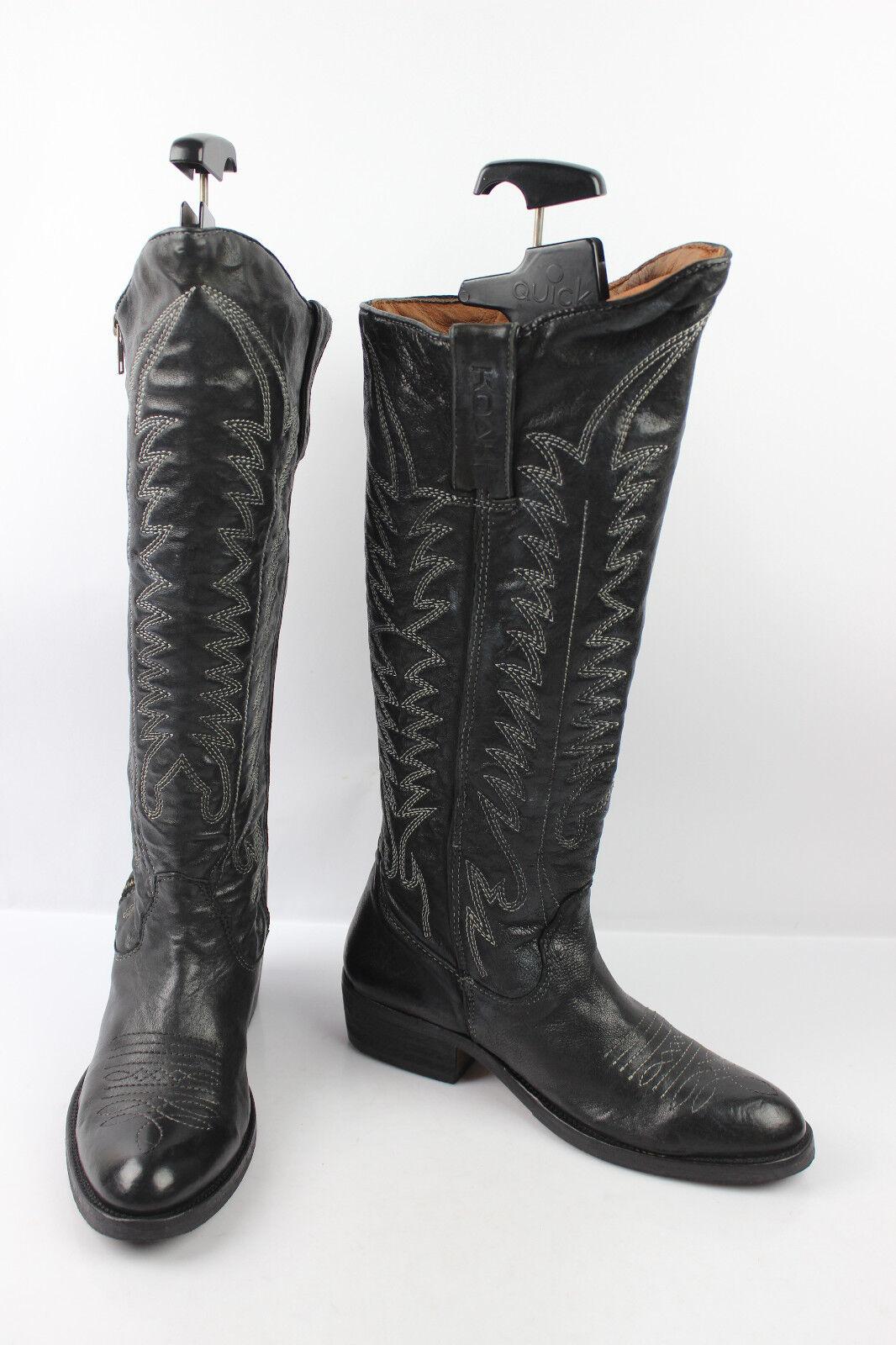 botas Hautes Genoux KOAH Tout Cuir negro T 38 TTBE